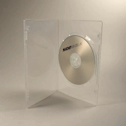 DVD BOX SLIM 1 SKIVA TRANSP.
