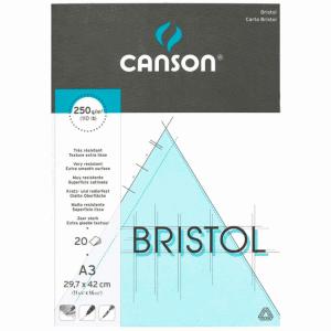 CANSON BRISTOL BLOCK, A3