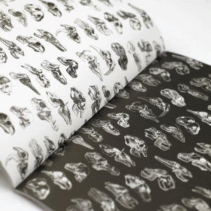 GIFT WRAPPING PAPER BOOK VOL 14 SKELETONS