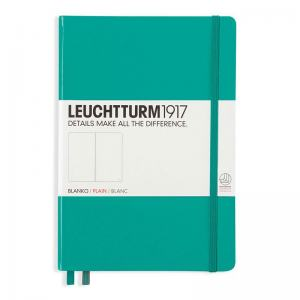 LEUCHTTURM MEDIUM OLINJERAD, EMERALD