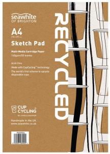 SEAWHITE SKISSBLOCK A4 CUPCYCLING CARTRIDGE PAD A4