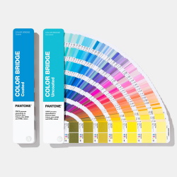 PANTONE FÄRGKARTA COLOR BRIDGE 2-SET COATED & UNCOATED GP6102A