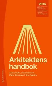 BOK: ARKITEKTENS HANDBOK 2016