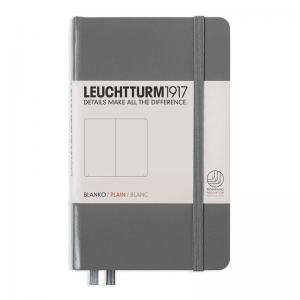 LEUCHTTURM POCKET OLINJERAD, ANTHRACITE