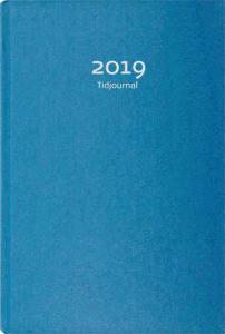 BURDE TIDJOURNAL 2019 BLÅ KARTONG