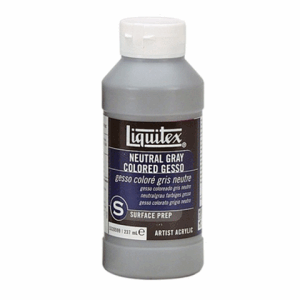 LIQUITEX COLORED GESSO GREY 237 ML