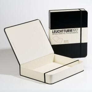 LEUCHTTURM BOKBOX, SVART