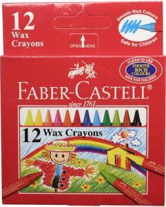 VAXKRITA FABER CASTELL 12-SET