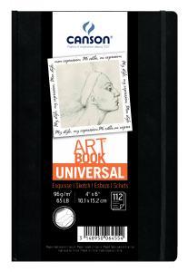 UNIVERSAL ART BOOK 10X15CM