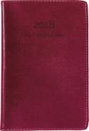LILLA FICKDAGBOKEN 2018, RÖTT KONSTLÄDER