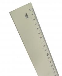 LINJAL VIT PLAST 50CM