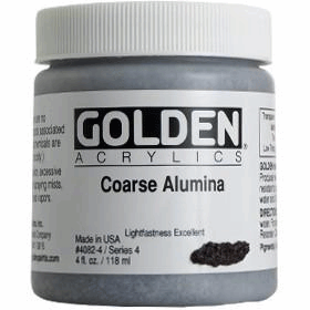 GOLDEN ACRYLICS COARSE ALUMINIUM 118ML