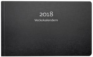 VECKOKALENDERN 2018, SVART KARTONG