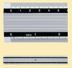 M+R ALUMINIUMLINJAL 40CM