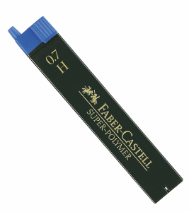 FABER CASTELL BLYERTSSTIFT 0,7MM, H