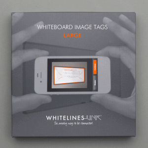 WHITELINES WHITEBOARDMAGNET, SMALL