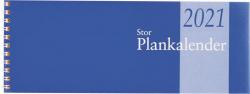 STOR PLANKALENDER SPIRAL 2021, BURDE