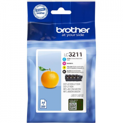 BLÄCKPATRONER BROTHER DCP-J572 CMYK