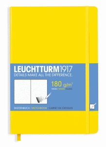 LEUCHTTURM SKETCH MEDIUM, LEMON