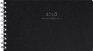 VECKOKALENDERN ECO LINE 2018, SVART