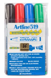 ARTLINE WHITEBOARD MARKER 4/FP (SNEDSKUREN)