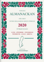 VANLIGA ALMANACKAN HÄFTAD