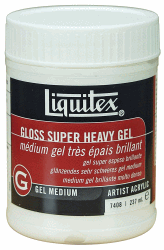 LIQUITEX GLOSS SUPER HEAVY GEL MEDIUM 237 ML