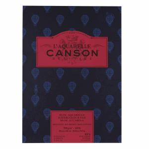 CANSON HÉRITAGE AKVARELLBLOCK, HP 23X31CM