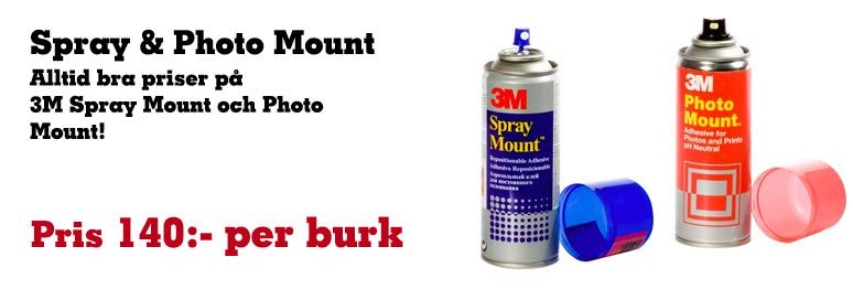 Spray & Photo Mount