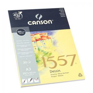 CANSON RITBLOCK 1557, TOPPSPIRAL A5