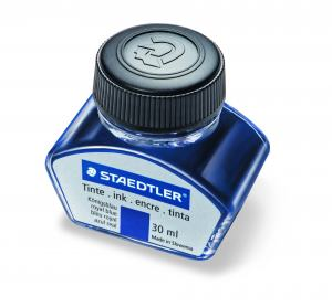 STAEDTLER PREMIUM LINE INK BOTTLE BLUE