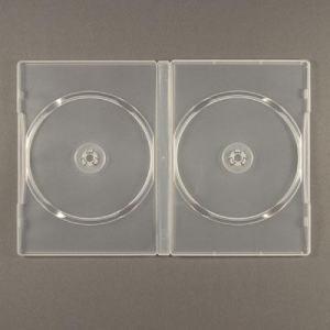 DVD BOX FÖR 2 SKIVOR TRANSPARENT