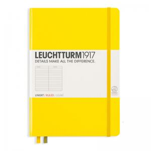 LEUCHTTURM MEDIUM LINJERAD, LEMON
