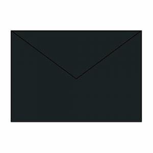 PAPERADO KUVERT C5, BLACK