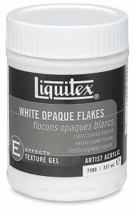 LIQUITEX WHITE OPAQUE FLAKE 237 ML