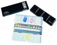 WINSOR & NEWTON AKVARELL BLACK BOX 12-SET