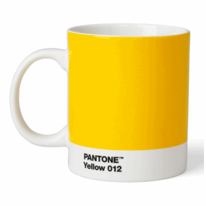 PANTONE MUGG YELLOW 012