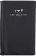 LILLA FICKDAGBOKEN, SVART PLAST 2018