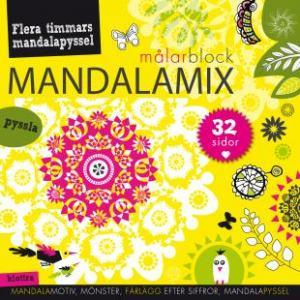 BOK: MANDALAMIX MÅLARBLOCK GUL