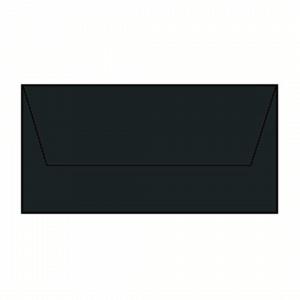 KUVERT E65, BLACK