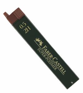 FABER CASTELL BLYERTSSTIFT 0,5MM, 2H