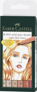 FABER-CASTELL PITT ARTIST BRUSHPEN, SKINTONES