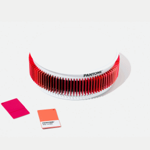 PANTONE PLASTIC STANDARD CHIP COLOR SET RED
