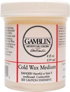 GAMBLIN 4 OZ. COLD WAX MEDIUM