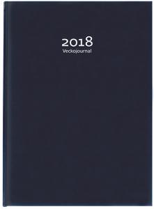 VECKOJOURNAL MÖRKBLÅ, 2018