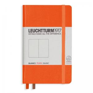 LEUCHTTURM POCKET OLINJERAD, ORANGE