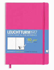LEUCHTTURM SKETCH MEDIUM, NEW PINK