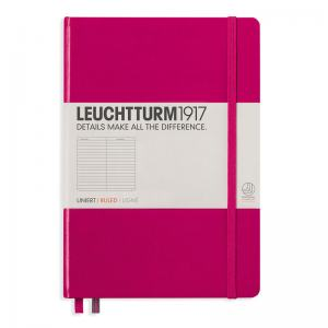 LEUCHTTURM MEDIUM LINJERAD, BERRY