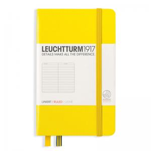 LEUCHTTURM POCKET LINJERAD, LEMON