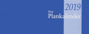 STOR PLANKALENDER, LIMBUNDEN